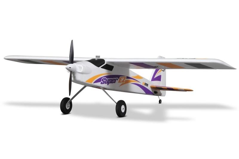 Super EZ V4 Sportflugzeug 1220mm PNP + Schwimmer inkl. Gyro
