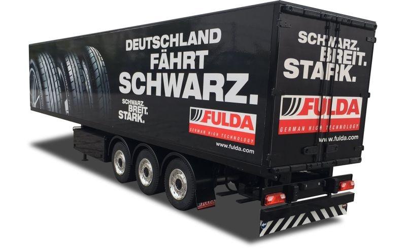 Fulda Kofferauflieger Bausatz,  1:14