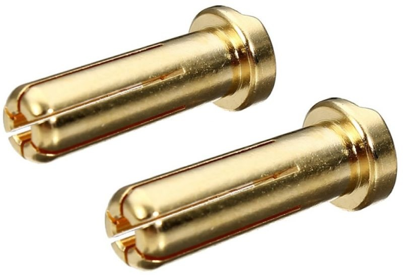 Gold Stecker 5mm Low Profile (2)