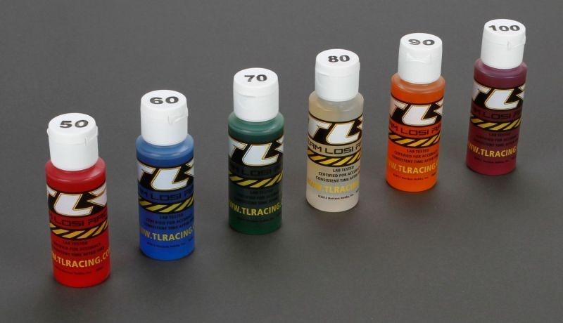 Stoßdämpferöl 6er-Set: 50, 60, 70, 80, 90, 100wt je 2oz