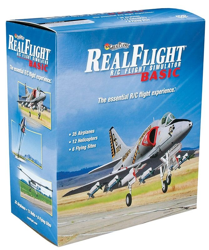 RealFlight Basic, Mode 1 Flugsimulator