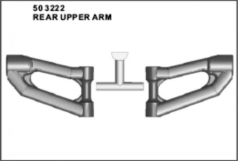 Querlenker X1-X2 oben vorn DM oben hinten