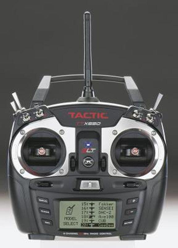 TTX650 6-Kanal 2,4GHz Computer-Fernsteurerung mit Empfänger