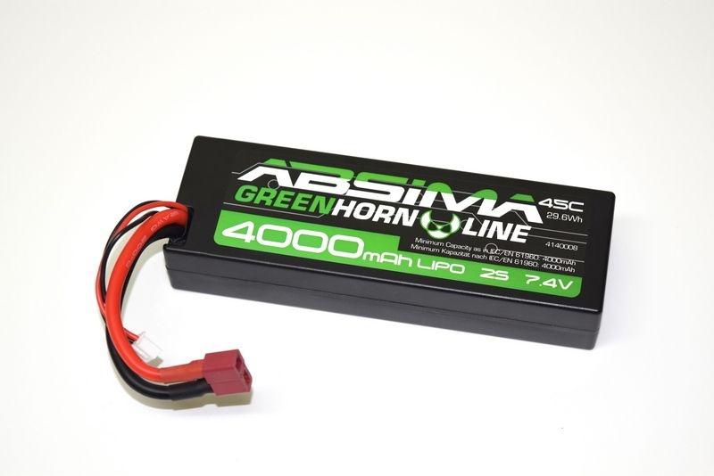 LiPo Stick Pack 7,4V-45C 4000 Hardcase (T-Plug)