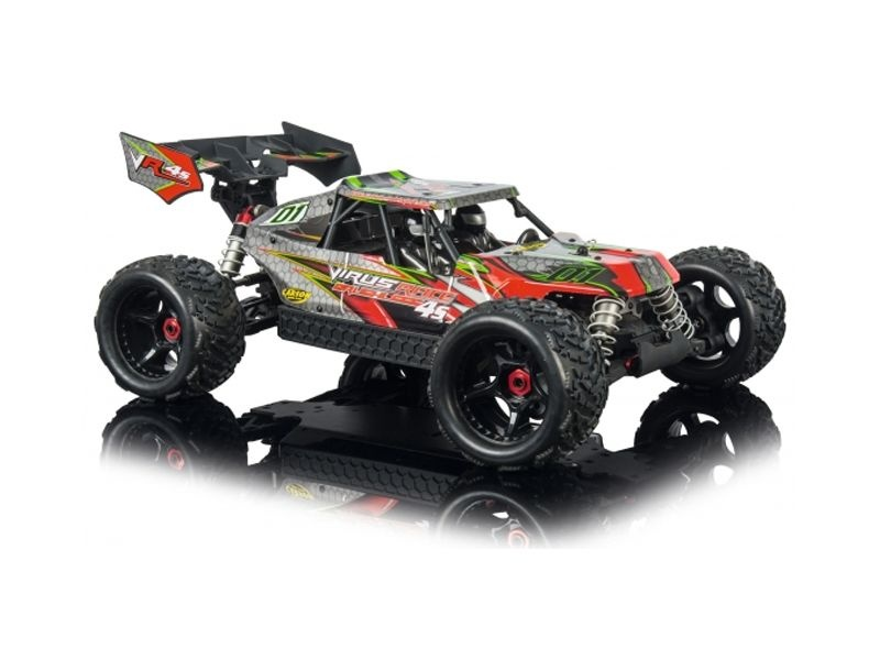 carson virus race 4 1 4s brushless 4wd buggy 1 8 2 4ghz. Black Bedroom Furniture Sets. Home Design Ideas