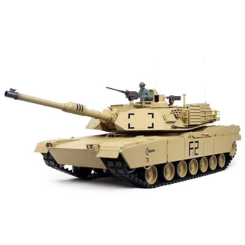 RC Panzer 1/16 M1A2 Abrams BB 2,4GHz RTR
