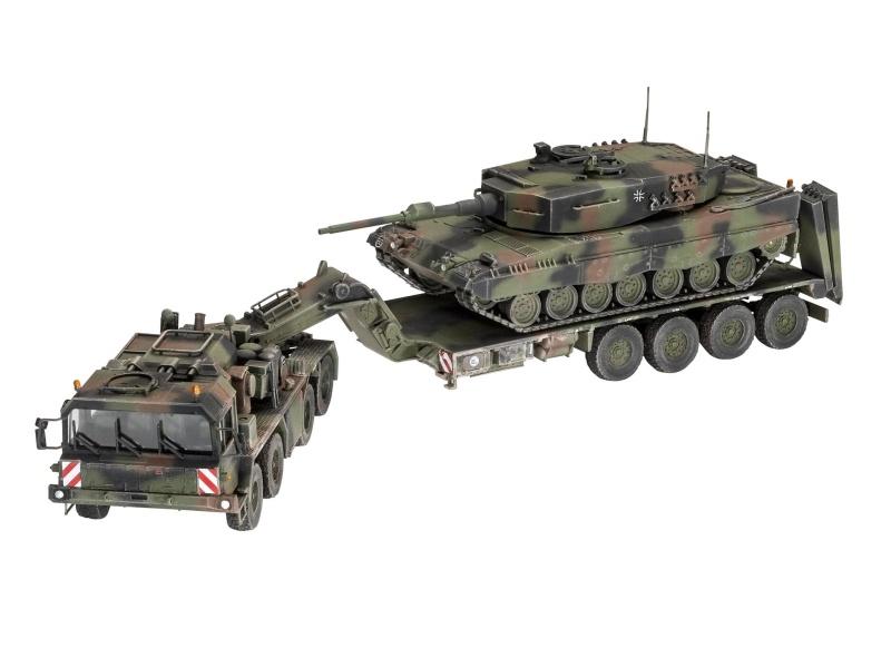 SLT 50-3 Elefant + Leopard 2A4 1:72 Plastik Modellbausatz