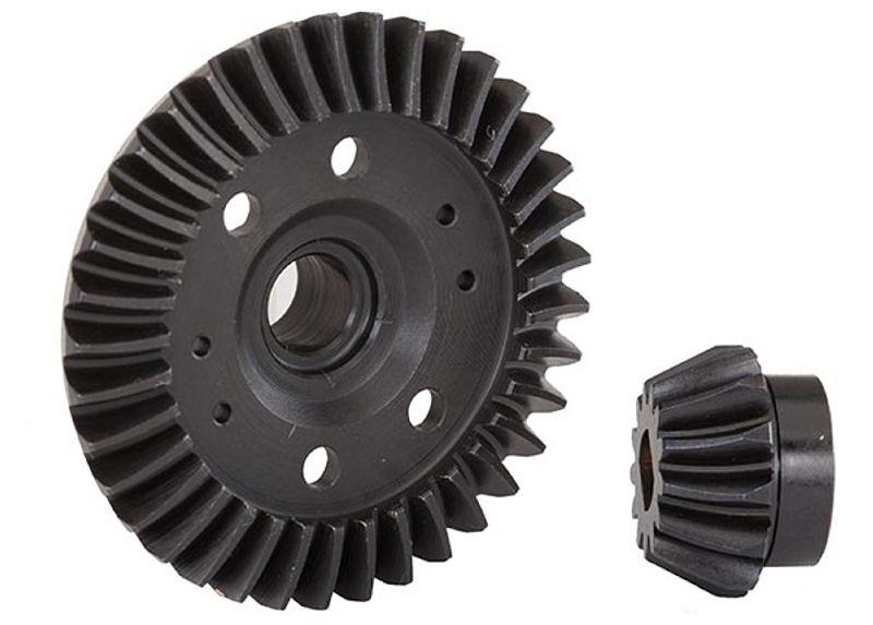 Tellerrad und Kegelrad für Differential hinten Slash 4x4