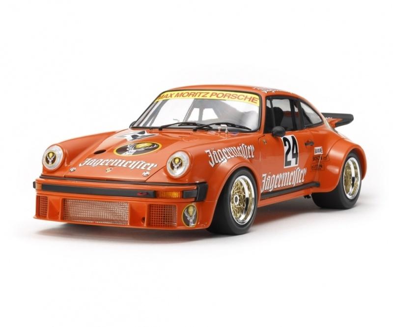 Porsche RSR 934 Jägermeister 1:12 Plastik Modellbausatz