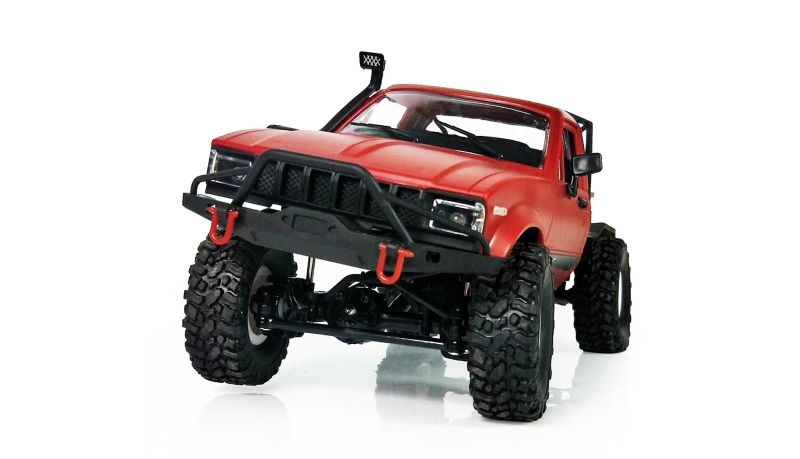 Pick-Up 4WD Off Road Truck 1:16 2,4GHz RTR Rot