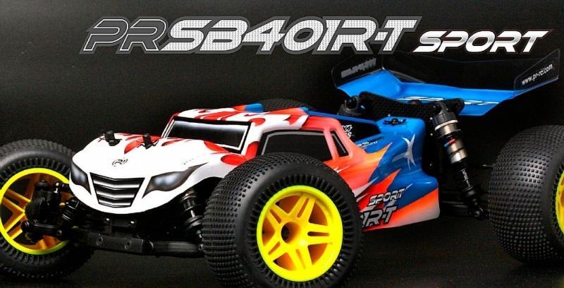 SB401R-T Sport 4WD Truggy 1:10 Bausatz