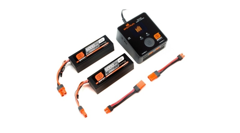 Smart PowerStage 6S Bundle 2x 3S 5000mAh LiPo + Lader S2100