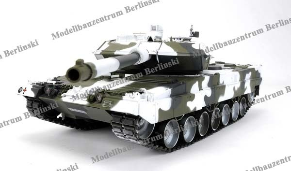 Hobby Engine Leopard 2A6 Winter-Tarnlook RTR