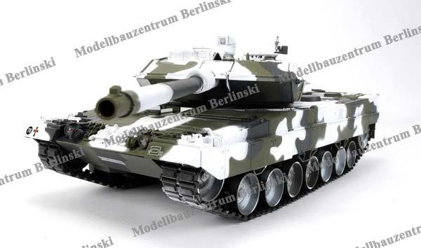 Hobby Engine Leopard 2A6 Winter-Tarnlook RTR