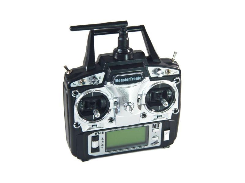 MTT6 Pro Flugsender 6-Kanal 2,4Ghz 20 Modellspeicher