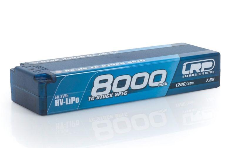 P5-HV TC Stock Spec GRAPHENE 8000mAh Hardcase 7.6V Lipo 60C