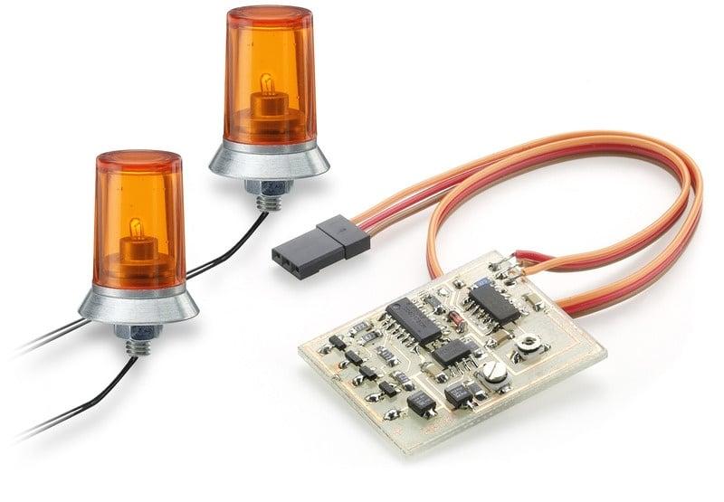 Doppel-Rundumlicht mit Schalter