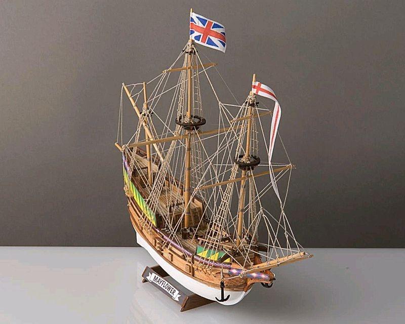 Mayflower Schiffsmodell Baukasten 1:140 (Corelline)
