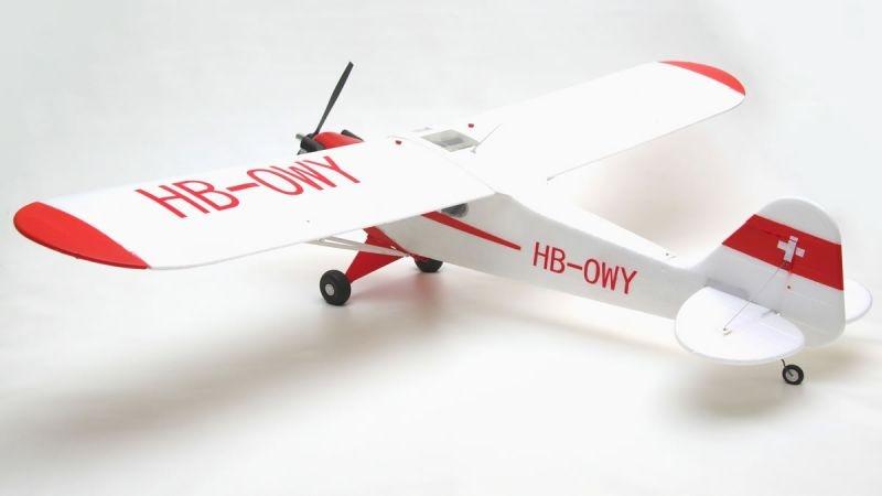 Piper J3 Cub V3 Leichtflugzeug 1400mm PNP