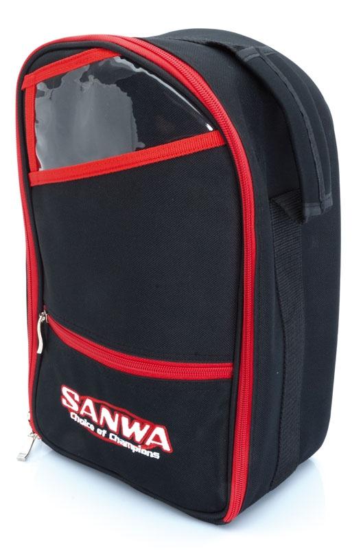 Sanwa Sendertasche 2 (schwarz/rot)