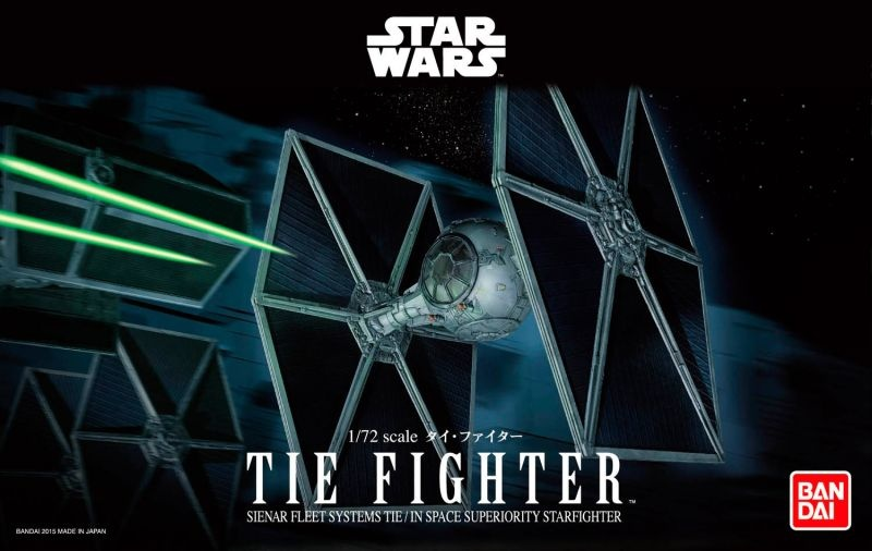 BANDAI Star Wars Tie Fighter 1/72