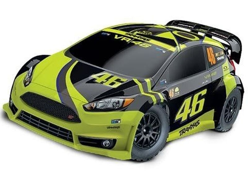 Rally Ford Fiesta ST 4WD VR46 Valentino Rossi Edition RTR