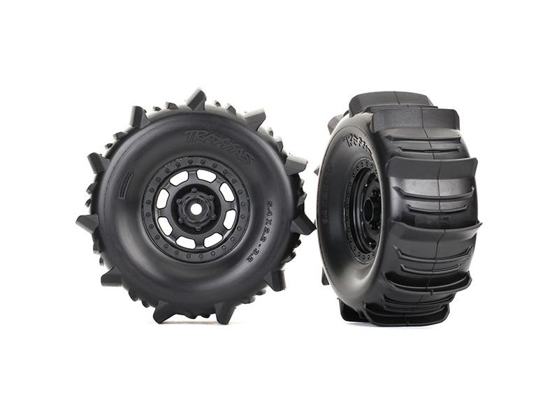 Reifen auf Felge montiert BFGoodrich Paddle Reifen (2)