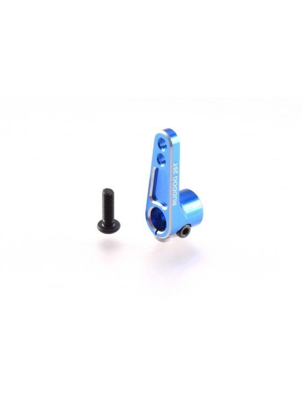Aluminium Offset Servo Horn 25T blau
