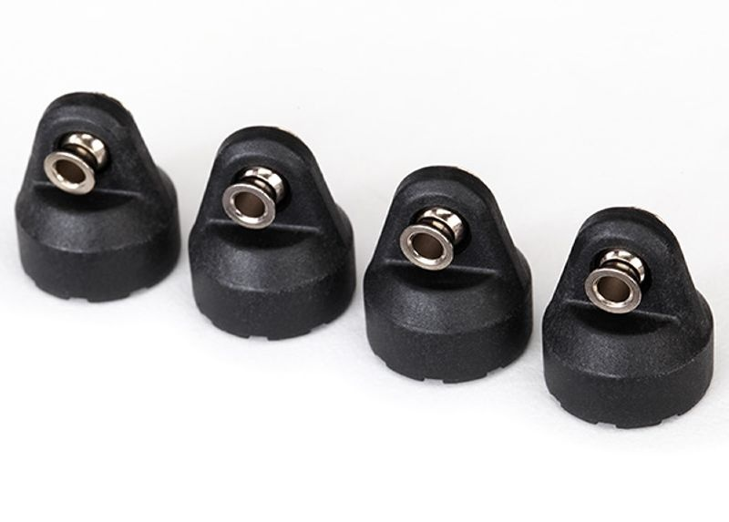 Stoßdämpferkappen (4) Ford-GT, Rustler, Slash, Stampede