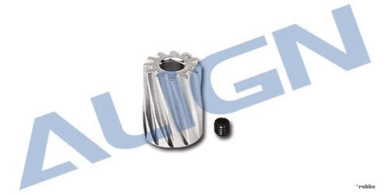 Motorritzel, schrägverzahnt, M0.6, 12 Zähne, 3.17mm