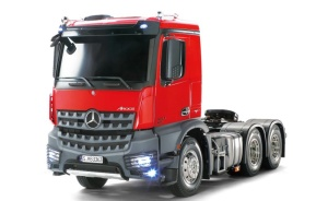Mercedes Benz Arocs 3363 3-Achs rot inkl. MFC-03 RTR