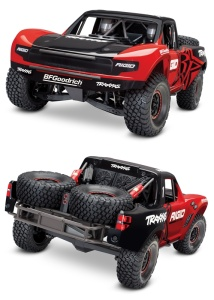 Unlimited Desert Racer Pro-Scale 4x4 Racing Truck bis 6S rot