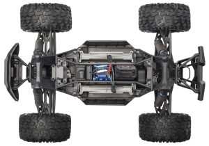 X-MAXX 4WD BL Monstertruck VXL-8S TSM RTR, Rock n` Roll