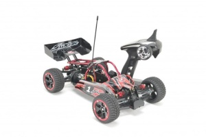 Fox4x4 1/10 Elektro Brushless Fun Buggy RTR (rot)