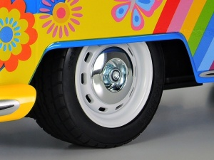 VW Bus Type 2 T1 Flower Power 2WD M-05L 1:10 Bausatz